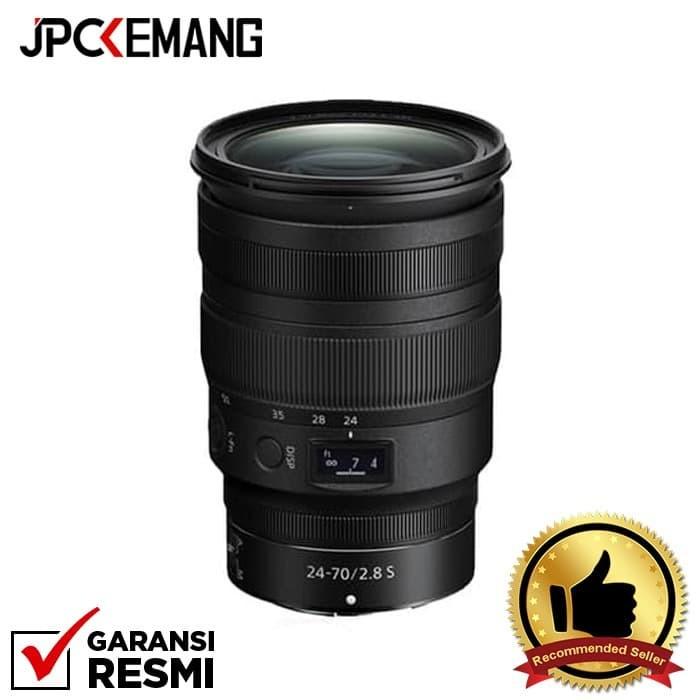 Foto Produk Nikon NIKKOR Z 24-70mm f/2.8 S GARANSI RESMI dari JPCKemang
