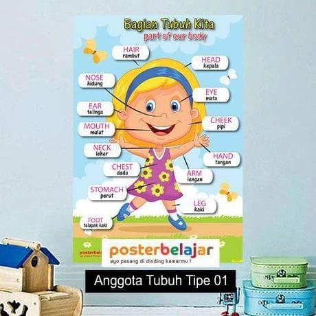 Jual Promo Tipe 1 Paket Isi 10 Poster Pendidikan Belajar Bahasa Inggris Kota Tangerang Selatan Panungganganutaragrosir Tokopedia