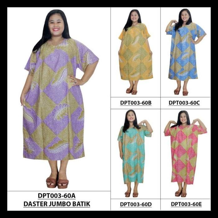 Foto Produk Daster Jumbo Lengan Pendek ,Kancing,Daster Bumil-Busui (Dpt003-60) - dari saisaie