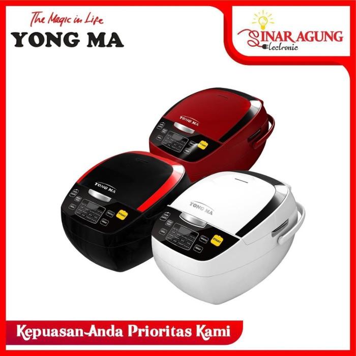 Foto Produk (HARGA PROMO) MAGIC COM YONG MA / YONGMA YMC-801 RICE COOKER 2L - Merah dari sinar agung electronic