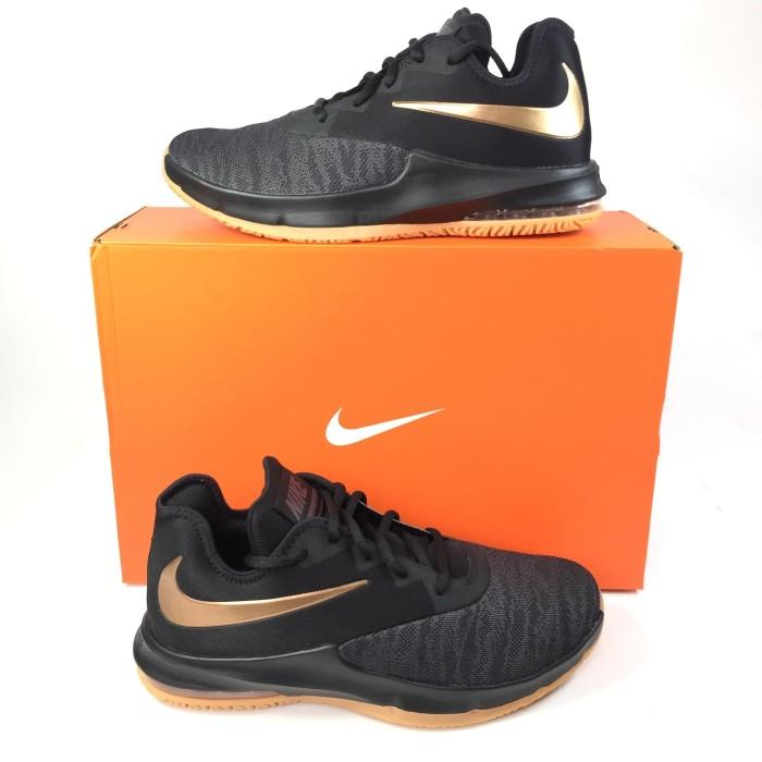 Jual Sepatu Nike Aj5898 009 Black Gold Nike Original Sepatu Casual Kota Surabaya Rebell Online Store Tokopedia