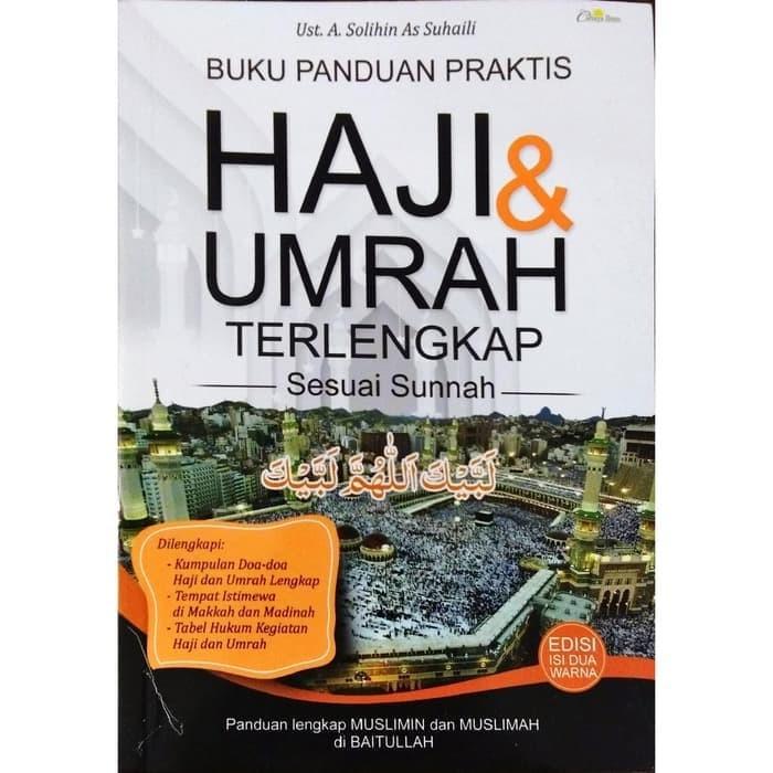Foto Produk Buku Panduan Praktis Haji & Umrah Terlengkap Sesuai Sunnah dari DistributorBuku