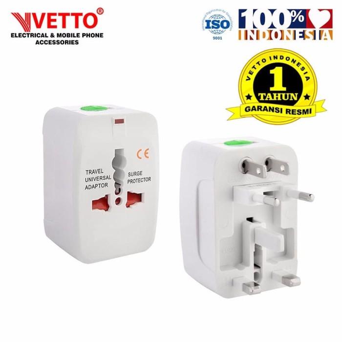 Foto Produk VETTO V8992 Universal travel Adaptor dari Vetto Indonesia