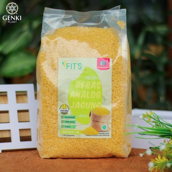 Foto Produk FITS Beras Analog Jagung - 2 kg dari Genki Plant