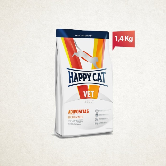Foto Produk Happy Cat Vet Diet Adipositas 1.4Kg dari Happy Dog & Happy Cat