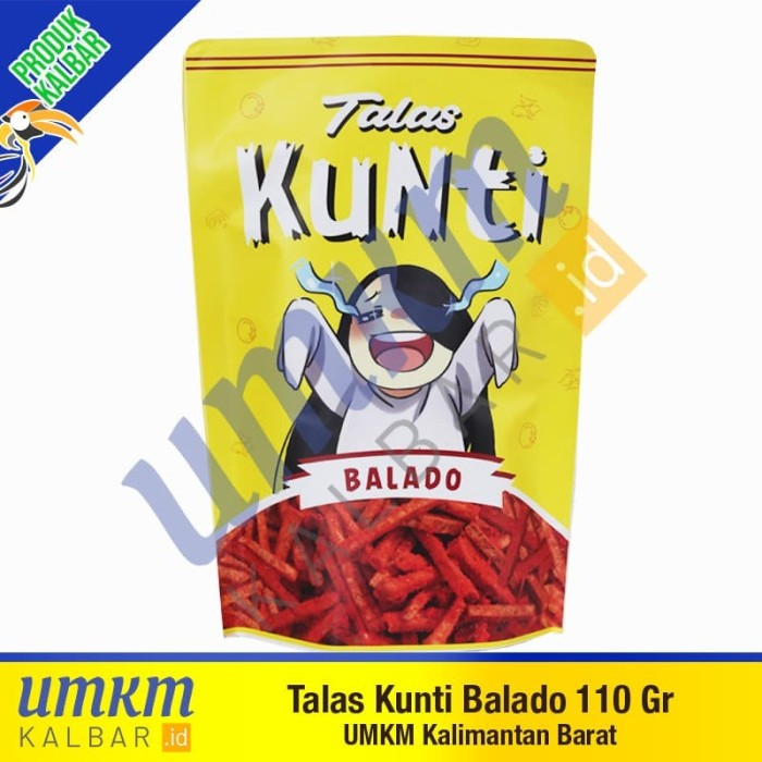 Foto Produk Talas Kunti Balado 110 gr-Camilan Khas Pontianak Kalbar dari umkmkalbar.id