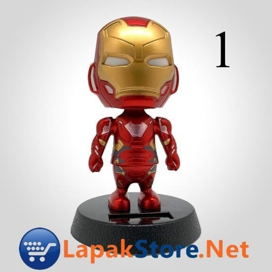 Foto Produk Avengers Solargard Boneka Bergoyang Dashboard Mobil Lapakstore dari Lapakstore[dot]net