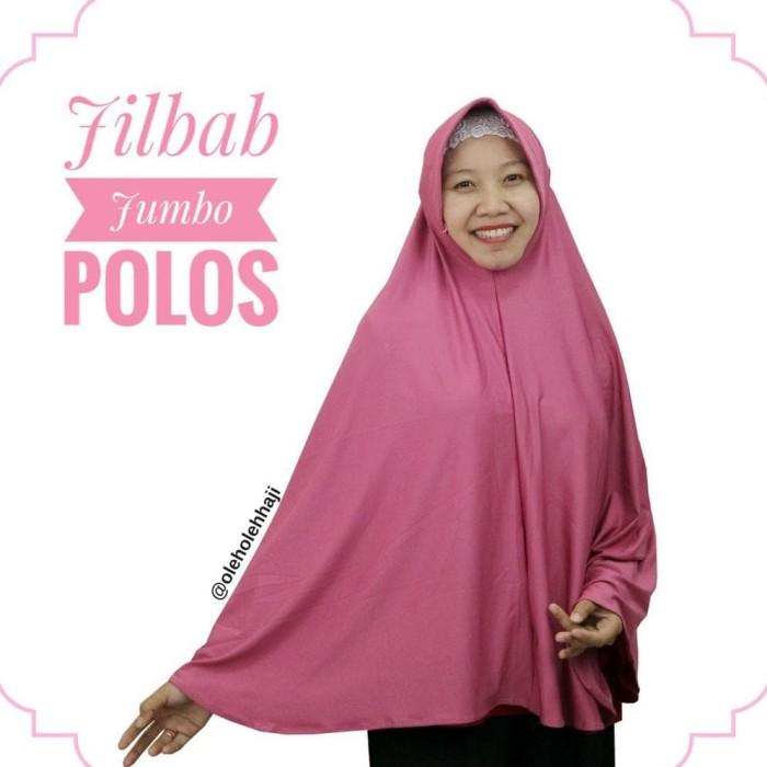 Jual Terlaris Jilbab Hijab Khimar Bergo Jumbo Syar I Polos Dengan Pet Jakarta Barat Harahirishop Tokopedia
