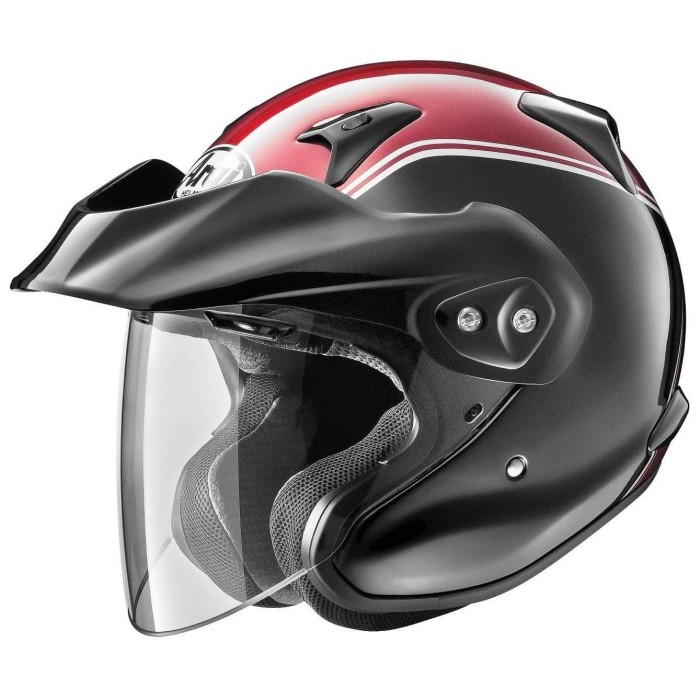 Foto Produk Arai SNI CT-Z Gold Wing Original Helm Half Face - Black Red - M dari Arai Indonesia