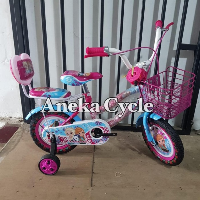 Jual Sepeda Anak Perempuan Frozen 12 Michel Princess ...
