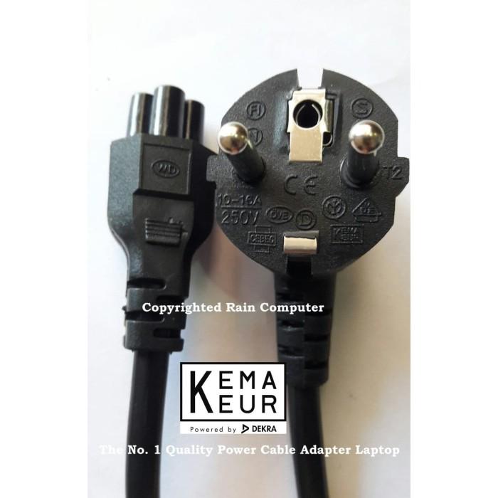 Foto Produk Kabel Power Adaptor Laptop 3 Lubang TEBAL dari Rain Computer