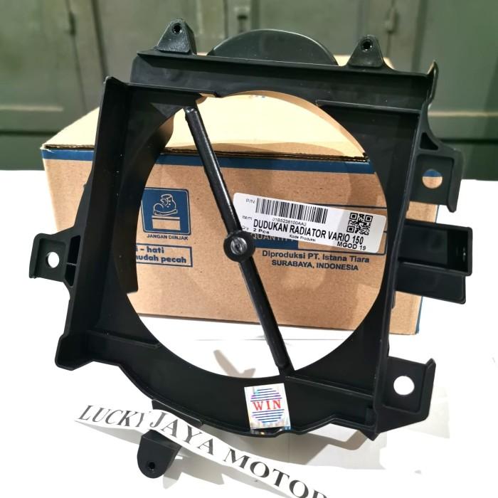 Foto Produk Plastik Cover Dudukan radiator Vario 125 150 Led Old Lama WIN dari LUCKY JAYA MOTOR