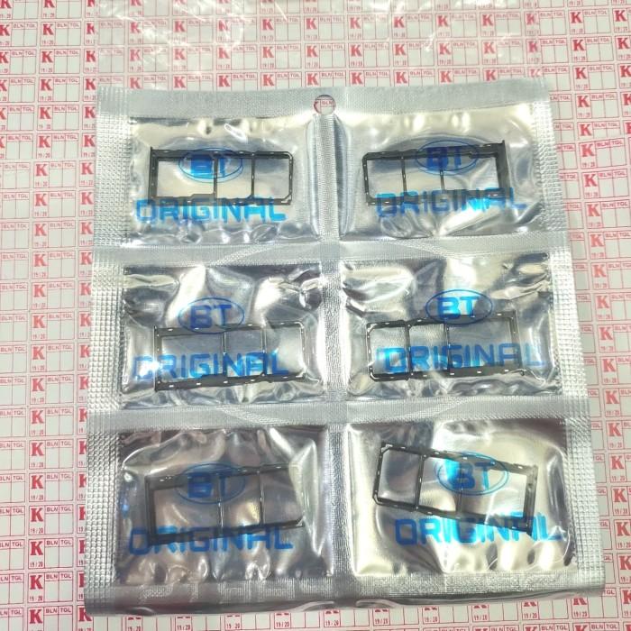 Foto Produk SIMLOCK SIMTRAY TEMPAT KARTU SIM CARD OPPO REALME 5 PRO ORIGINAL - Biru dari KING sparepart
