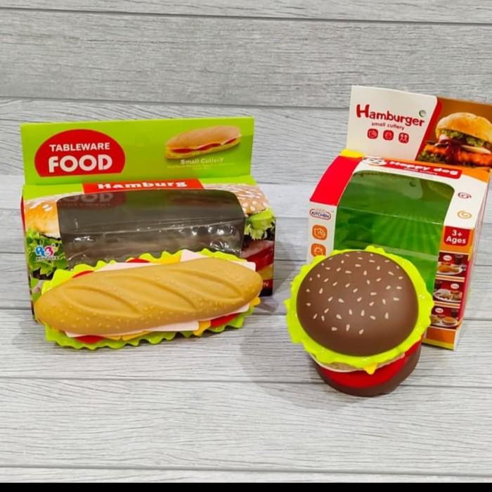 Jual Mainan Pretend Anak Bongkar Pasang Tableware Food Hotdog And Burger Jakarta Barat Auto Kid Ii Tokopedia
