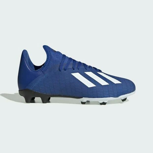 Jual Sepatu Bola Anak Adidas X 19 3 Fg Jr Royal Blue Art Eg7152