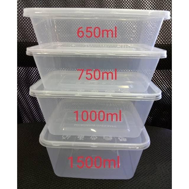 Foto Produk Thinwall kotak 1500ml (25pcs) dari Amanamart