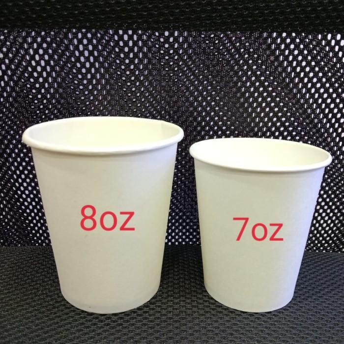 Foto Produk paper cup polos 7oz - 50pcs dari Amanamart