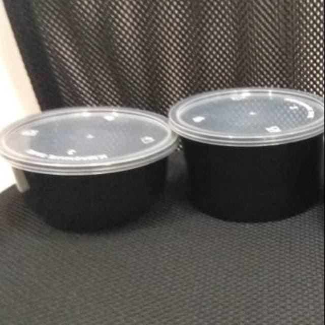 Foto Produk Food container Tpr 400ml-450ml + tutup (25pcs) dari Amanamart