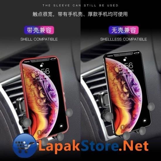 Foto Produk Car Holder Handphone Model Clamp 4 Button Lapakstore dari Lapakstore[dot]net