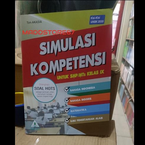 Jual Buku Simulasi Kompetensi Akasia Smp Mts Kelas 9 Kunci Jawaban Jakarta Pusat Maddstore67 Tokopedia