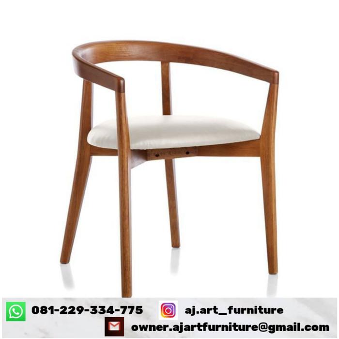 Jual Kursi Cafe Kursi Cafe Kayu Jati Kursi Cafe Modern Kab Jepara Aj Art Furniture Tokopedia