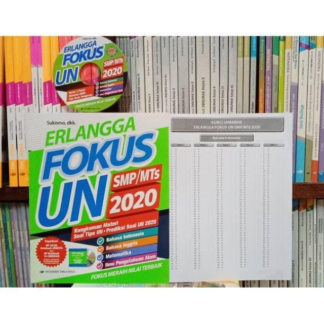 Jual Ter Erlangga Fokus Un Smp Mts 2020 Jakarta Timur Eqioa Online Tokopedia