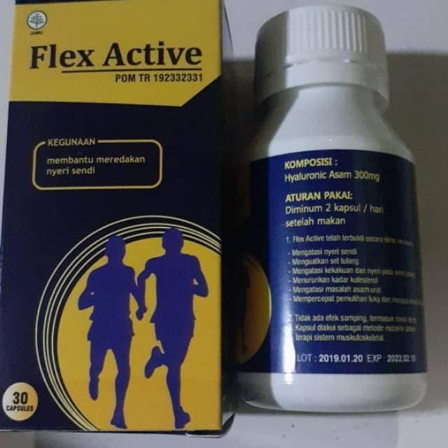Foto Produk PROMO obat herbal kesehatan sendi dan tulang FLEX ACTIVE asli original dari griyalina
