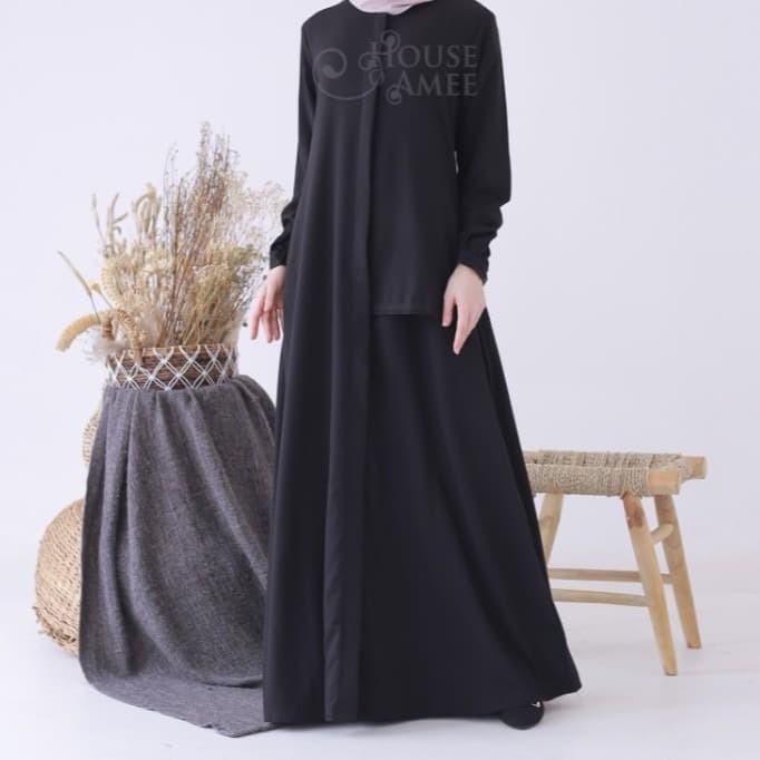 Foto Produk Basic Lace Dress Black by house of amee original dari SPEED_DEALS