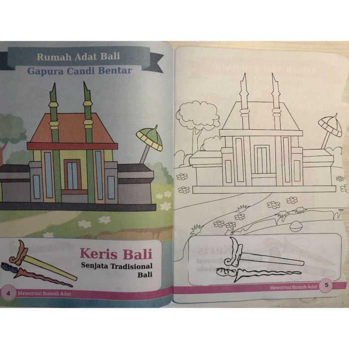 Jual Terlaris Buku Mewarnai Rumah Adat Temurah Jakarta Barat Mentaarii Shop Tokopedia