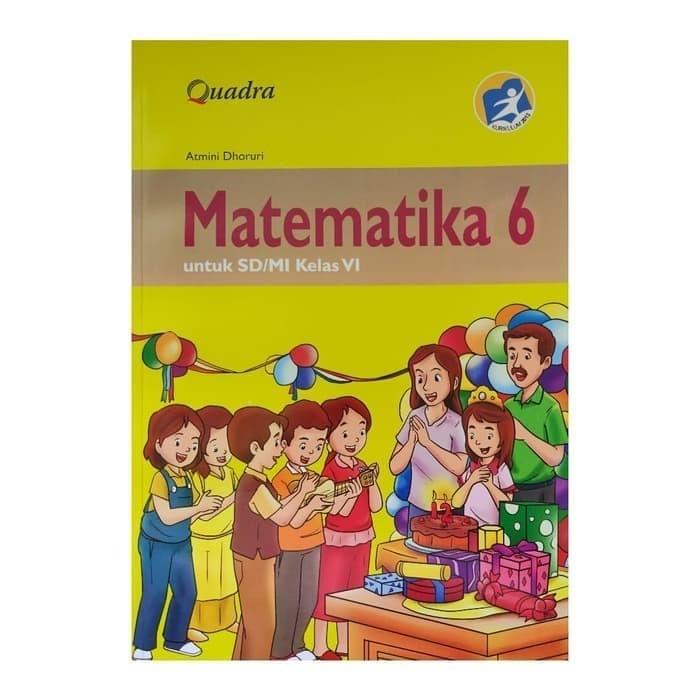 Jual Buku Sd Kelas 6 Buku Matematika Kelas 6 Sd Kurikulum 2013 Penerbit Jakarta Barat Maryadiyuniar Tokopedia