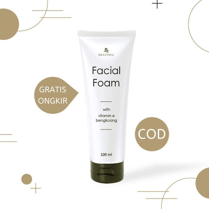 Foto Produk Mellydia Facial Foam Pemutih Wajah Kulit Berjerawat dari DELASHA STORE