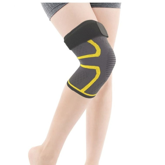 Foto Produk MKAS Knee Brace Knee Support Deker Lutut Pelindung Lutut (1 piece) dari Kiddies World