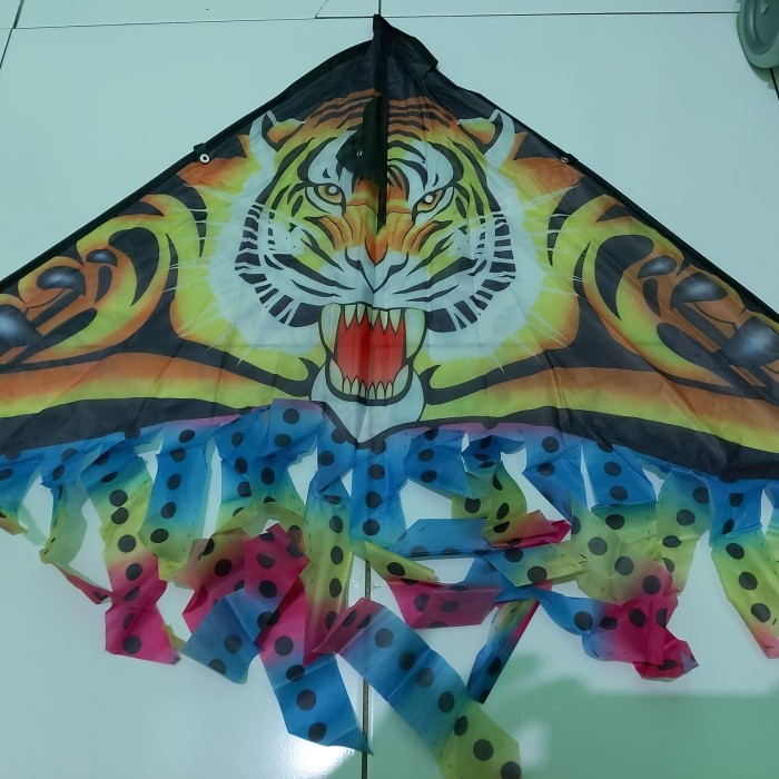 Jual Mainan Anak Layang Layang Model Harimau Kota Tangerang Galerionline Tokopedia