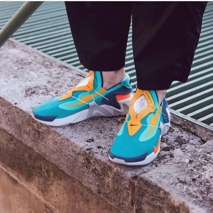 Jual Nike Adapt Huarache Hyper Jade Total Orange Jakarta Selatan Npshop1 Tokopedia