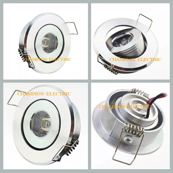 Foto Produk Lampu LED Downlight Mini 1W 1Watt 1Mata dari Champion Electric