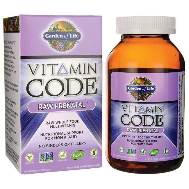 Jual 180 Cap Garden Of Life Vitamin Code Raw Prenatal Vitamin Code Prenatal Kota Makassar Harapan Indah Organik Tokopedia