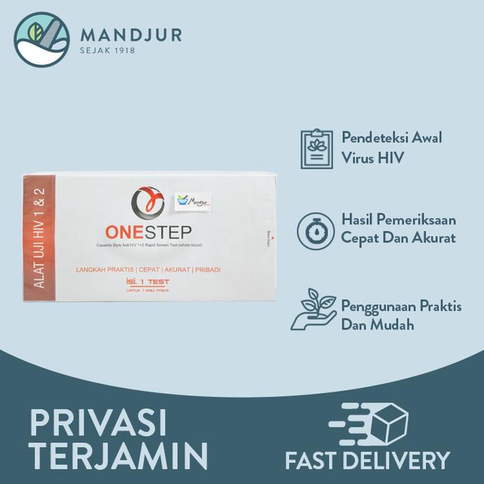 Foto Produk Onestep HIV Test - Alat Uji HIV 1 & 2 dari mandjur