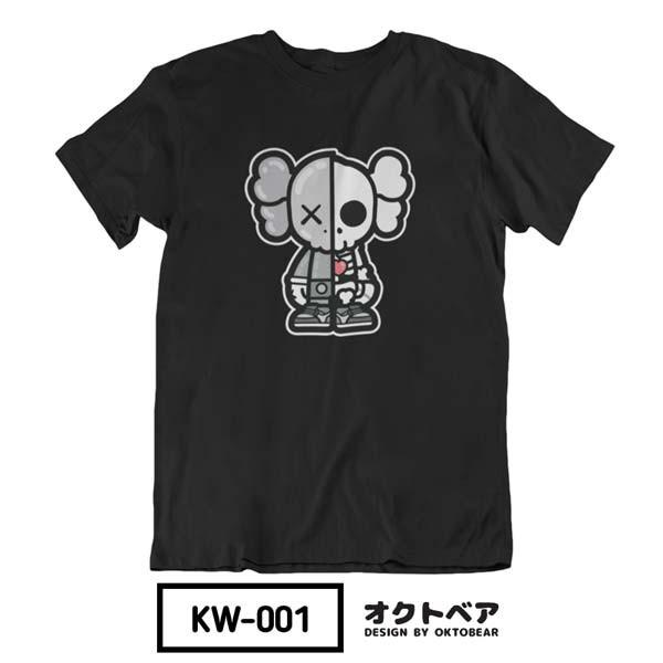 Foto Produk [PRE-ORDER] Kaos Unofficial Dissected KAWS - Black, L dari Oktobear