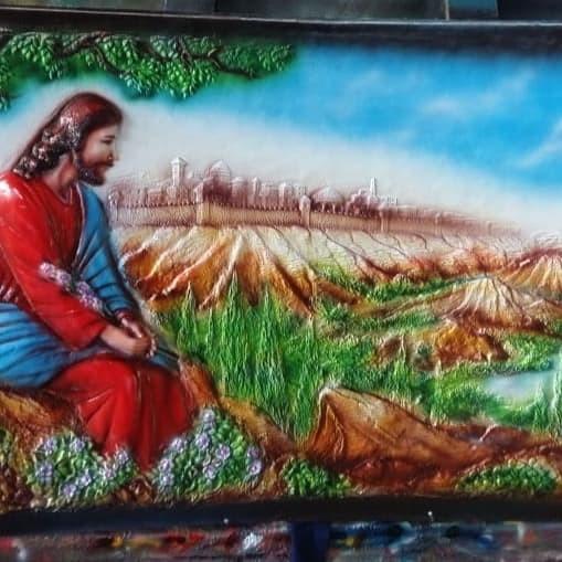 Jual Relief Gambar Yesus Di Bukit Getsemani Kab Semarang Reliefkuningan Tokopedia