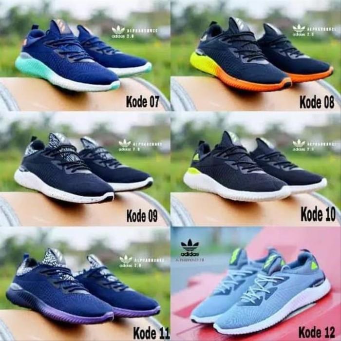Foto Produk Sepatu Adidas Pria Kasual Sneakers Gaul Gaya Murah Olahraga Jalan S dari renal shope