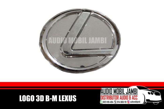 Jual Logo 3d B M Lexus Tools Kab Bengkalis Lintang Shope Shope Tokopedia