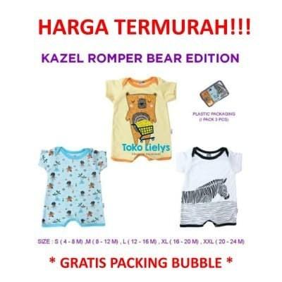 Foto Produk Kazel Romper Anak Cowo Bear Edition - XL dari i do my hobbies