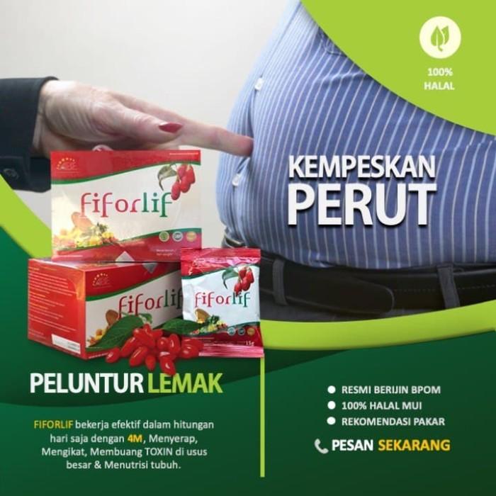 Foto Produk FIFORLIF - Detox Racun, Nutrisi Tubuh & Diet Aman Rekomendasi BOYKE dari Toko Herbal PT.ABE