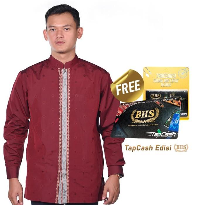 Foto Produk Baju Muslim BHS Masterpiece Merah - XL dari Sarung BHS Official