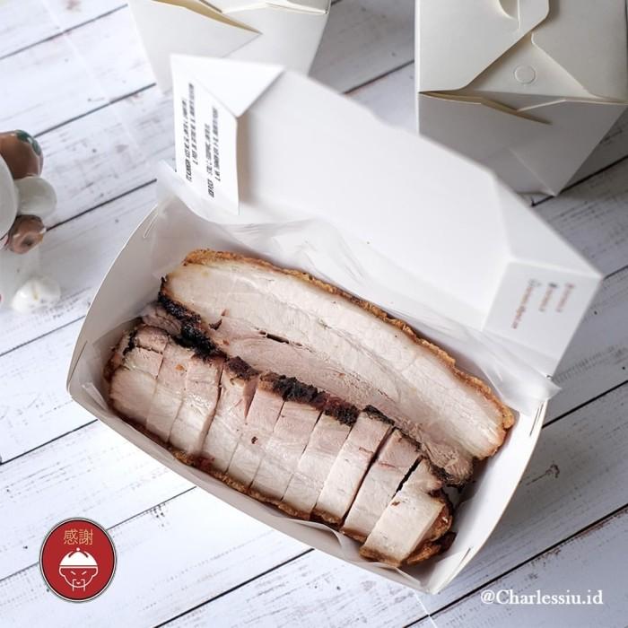 Foto Produk Babi Panggang Garing/ Chasio Charles Siu Kitchen 1/2kg dari Mens Playground
