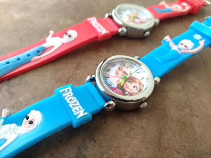 Jual Jam Tangan Anak Perempuan Jarum Kuda Pony Frozen Elsa Hello Kitty Jakarta Selatan Shopzel Tokopedia