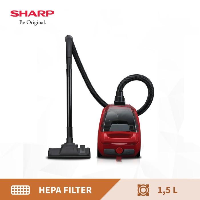 Foto Produk sharp vacuum cleaner EC-NS18-BK/RD dari Sharp Official Store