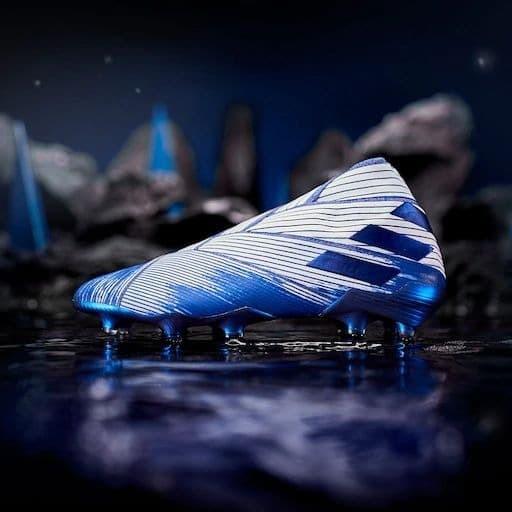 Jual Sepatu Bola Adidas Nemeziz 19 Fg White Royal Blue Kab