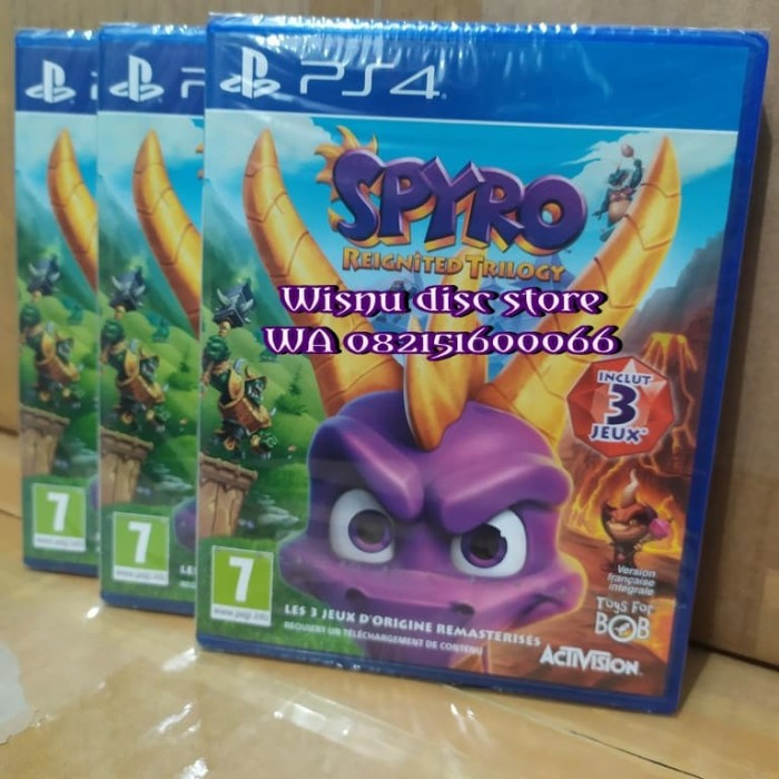 Jual Ps4 Spyro Reignited Trilogy Jakarta Utara Wisnu Disc Store Tokopedia