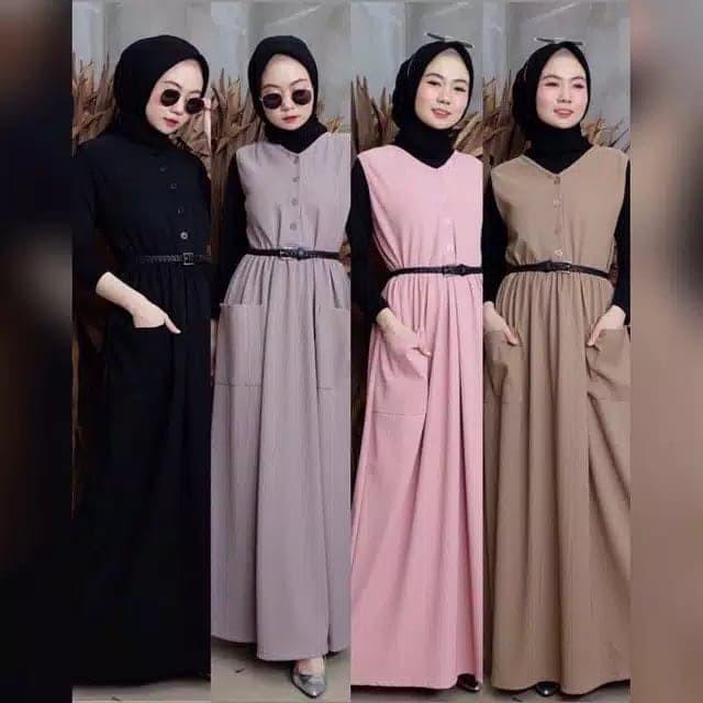 Foto Produk outer halwa - Hitam dari hijab murah Kalimantan